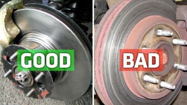 Rotor or disc brake problem