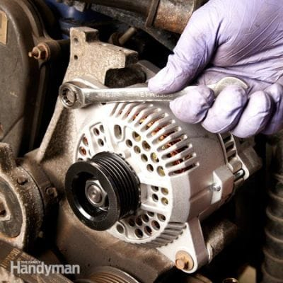 How to Remove Old Alternator