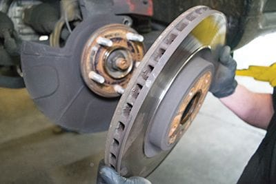 Removing Old Rotor
