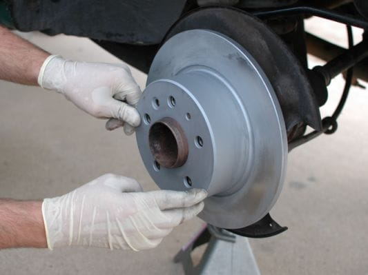 Troubleshooting brake rotor