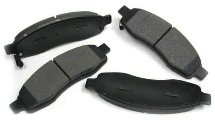 Different brake rotor pad type
