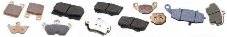 Brake Pads Variety to choose from