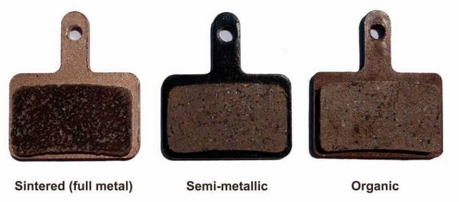 Brake Rotor Pad Types