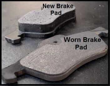 New Brake Pads VS Old Brake Pads