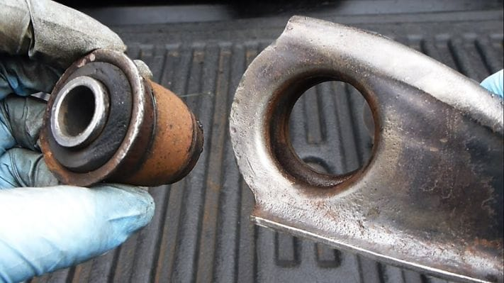 Inspect the Control Arms