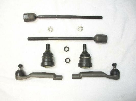 Tie rod end and ball joints sample images