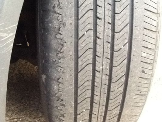 Uneven Tire Wire