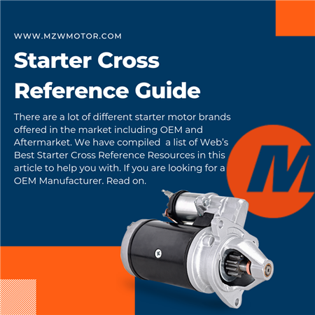 Starter Cross Reference Guide
