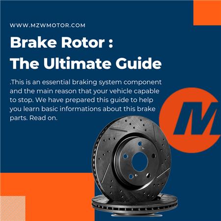 Brake Rotor Banner