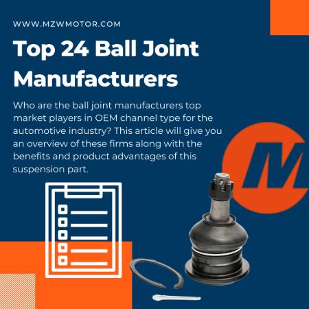 Ball Joint Manufacturers List