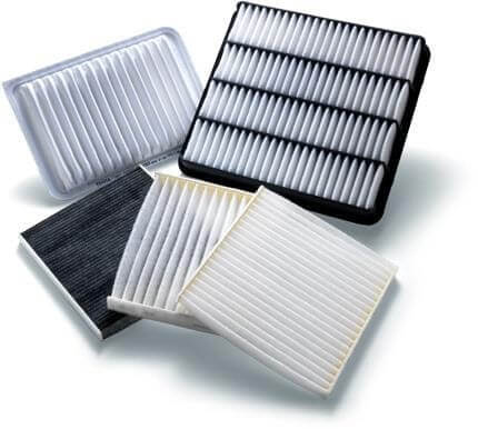 cabin air filters types sample images