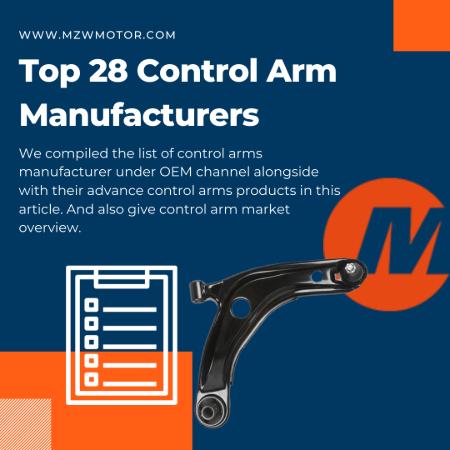 Top 28 Control Arm OEM List