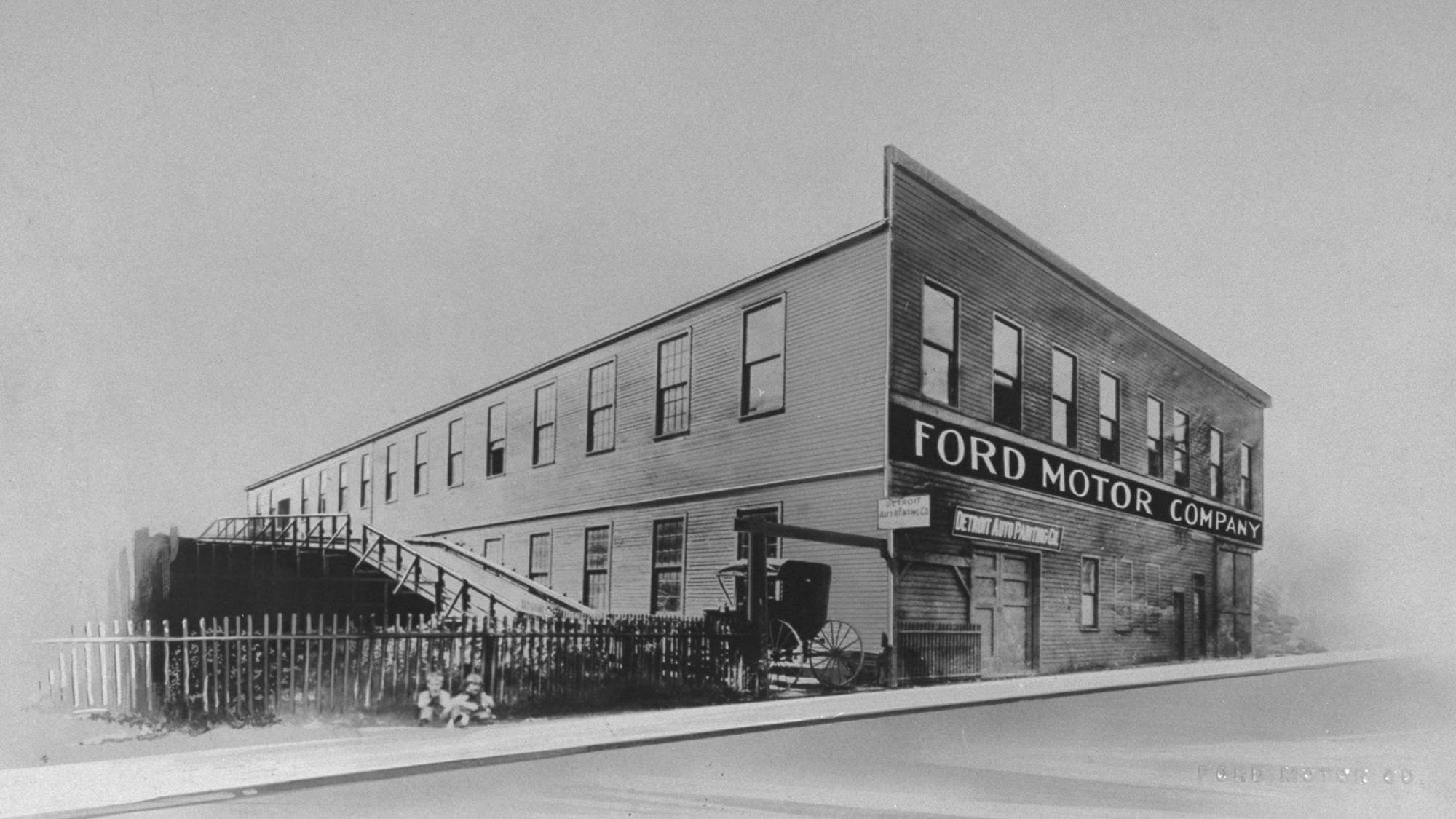 ford motor first building