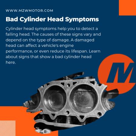 Bad Cylinder Head Symptoms banner