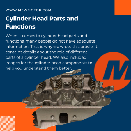 Cylinder Head Parts and Functions