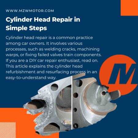 Cylinder Head Repair in Simple Steps banner