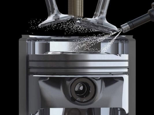 cylinder head fuel injectors