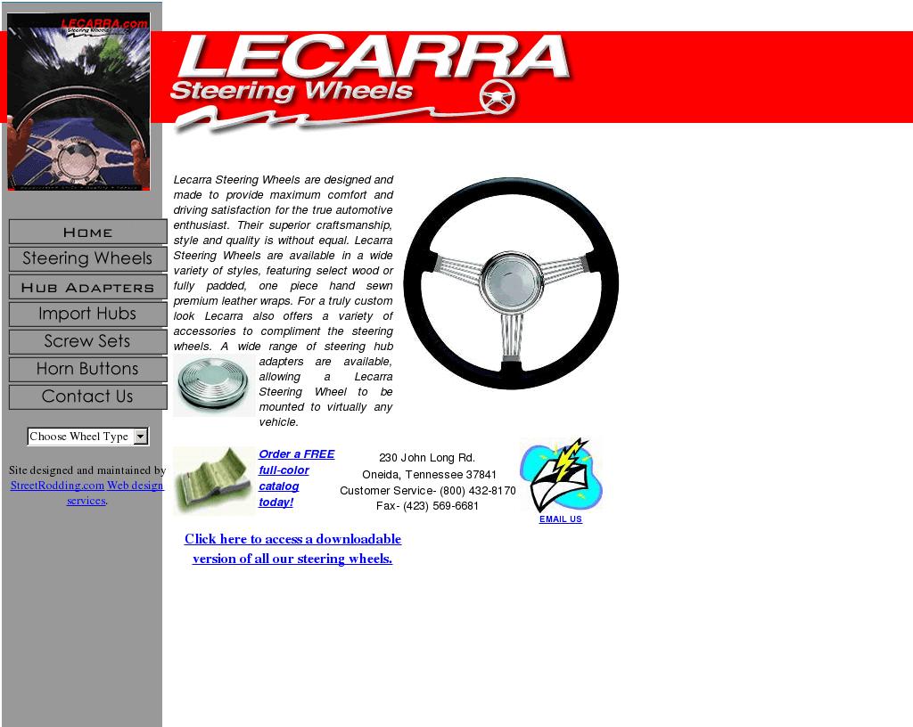 lecarra website