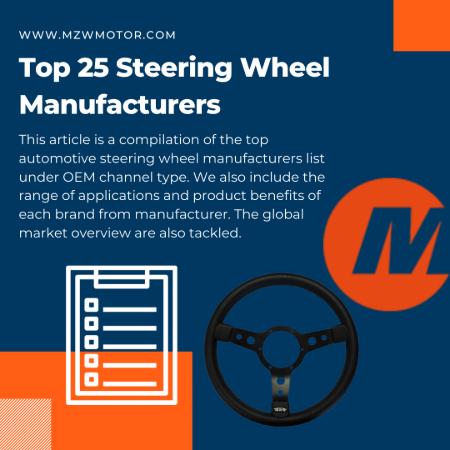 steering wheel manufacturers banner