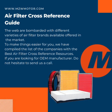 air filter cross reference banner
