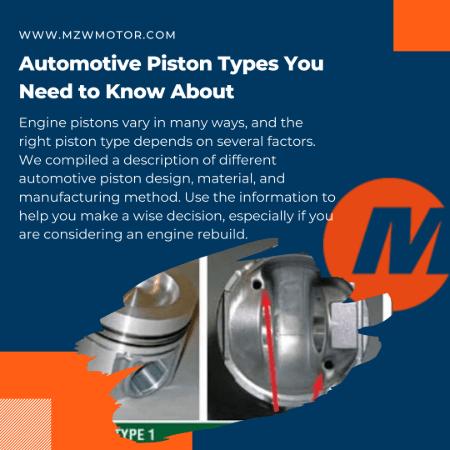 automotive piston types