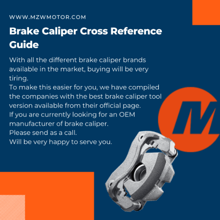Brake Caliper Cross Reference Banner