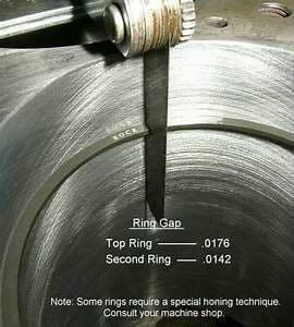 checking piston rings