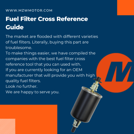 Fuel Filter Cross Reference Guide