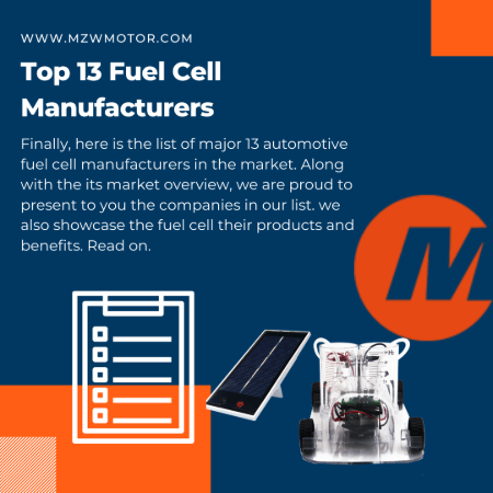 Top 13 Fuel Cell OEM Manufacturers In 2020