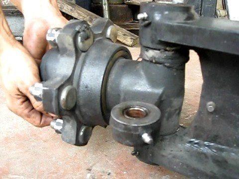 steering knuckle maintenance