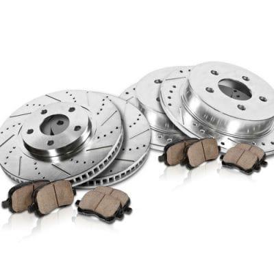 brake rotor & brake pads kit