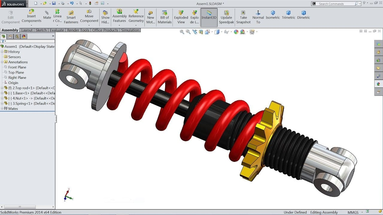 shock absorber design