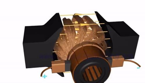 starter motor armature function