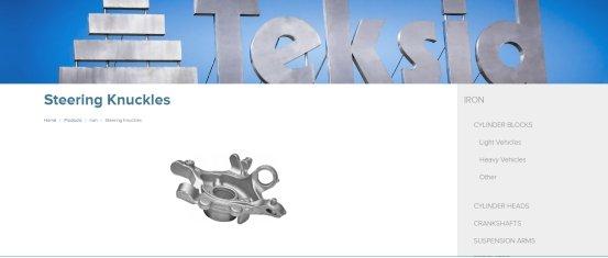 Teksid Steering Knuckle