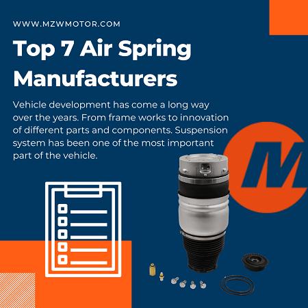 MZW Air Spring Manufacturer