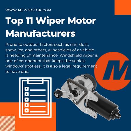 MZW wiper motor manufacturer