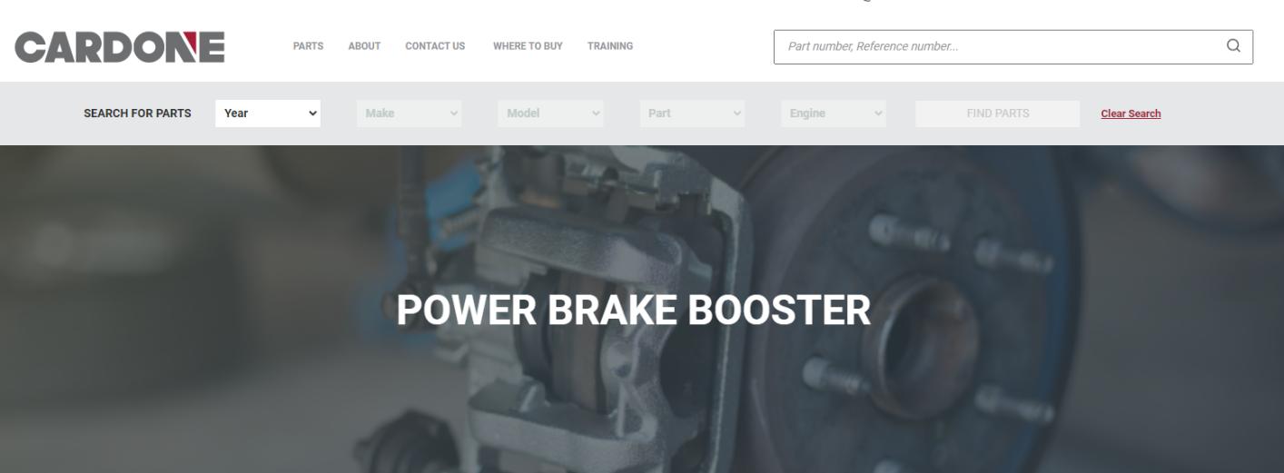 CARDONE Brake Booster