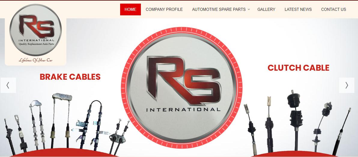 RS International Brake Cable