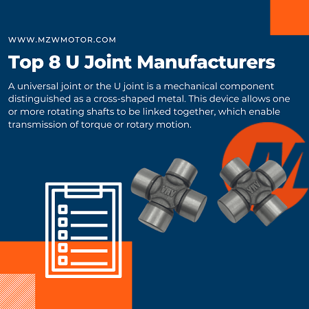Top 8 U Joint Manufacturers of 2020