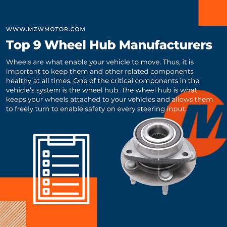 Top 9 Wheel Hub Manufacturers of 2020