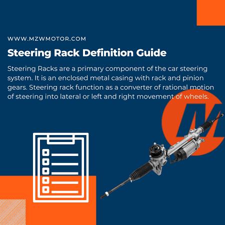 Steering Rack Definition Guide