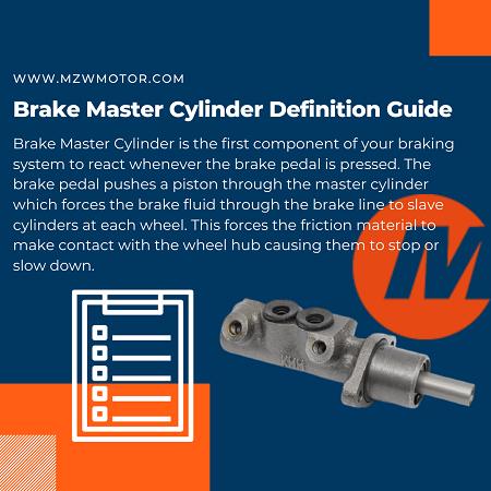 brake master cylinder definition guide