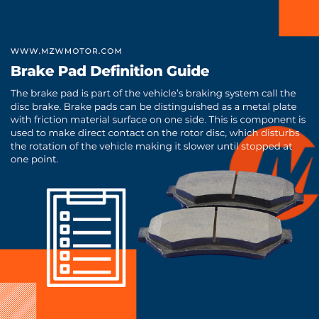 Brake Pad Definition Guide of 2021