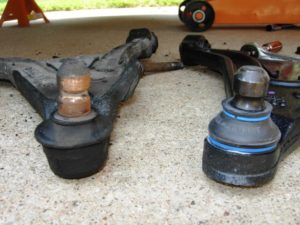 old vs. new ball joint