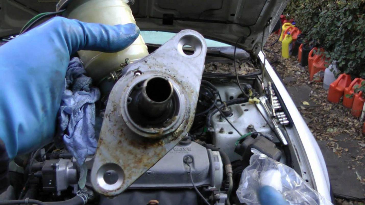 removal of brake master cylinder
