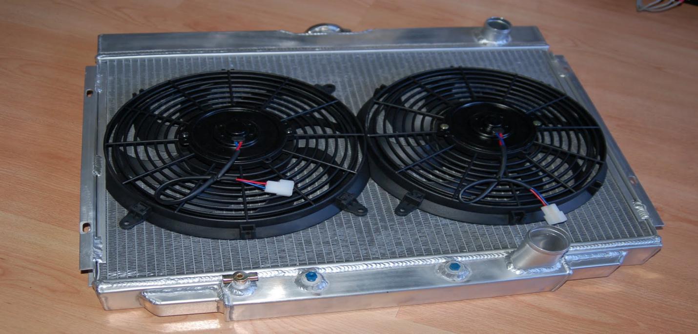 dual fan for radiator