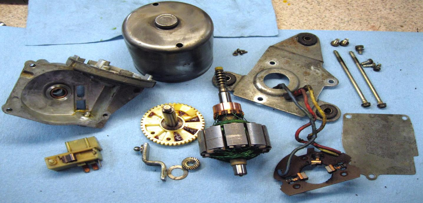 wiper motor assembly parts