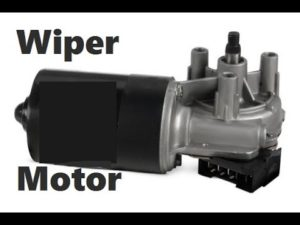 the automotive wiper motor exists as several different types