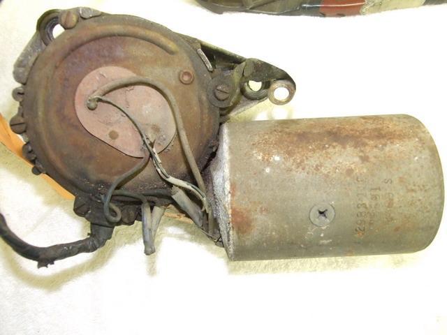 Corroded wiper motor