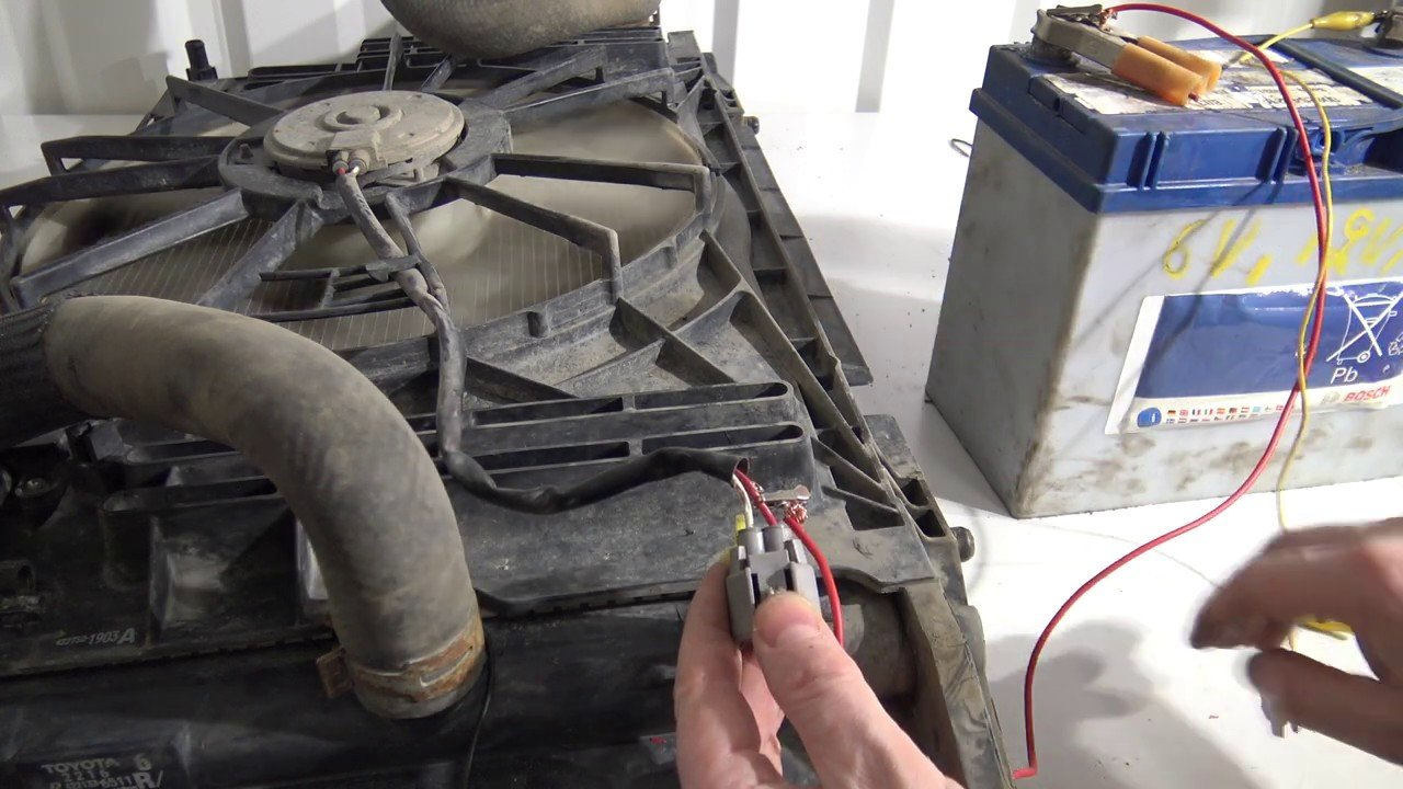 radiator fan repair: troubleshooting a car cooling fan